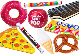 best-inflatable-pool-floats-donut-pizza-pretzel-ice-cream