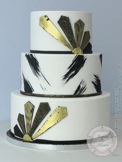 Un gâteau de très beau design