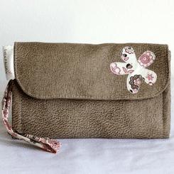 Petite sacoche en couture