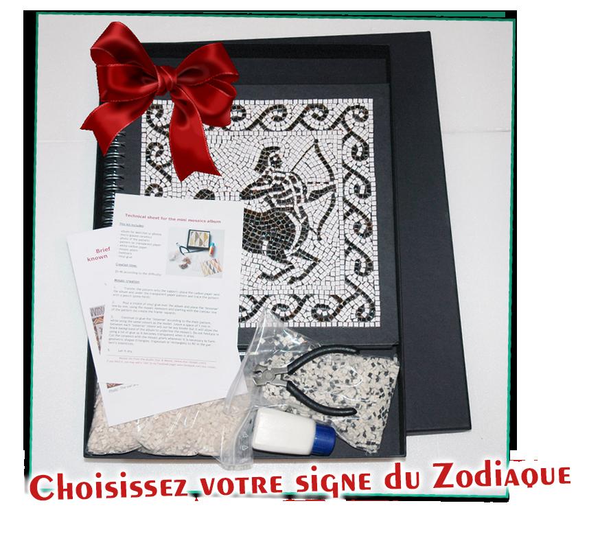Mosaïque signe du zodiaque