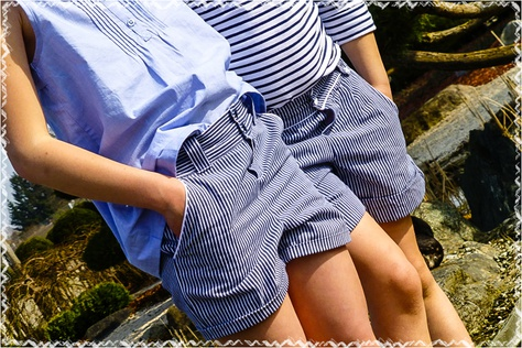 Des shorts made in Pikebou