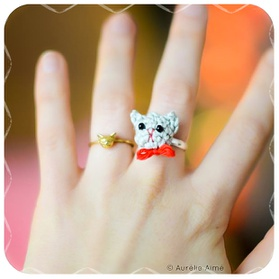 Bague chaton DIY