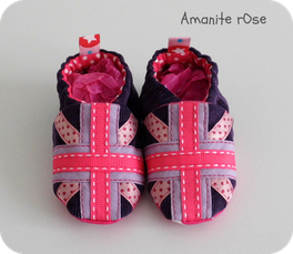 Chaussons Union Jack Fille Creapassions